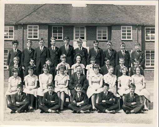 students and teachers in the 60s