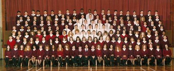 90s school year photo