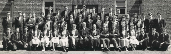 teachers and prefects in the 50s