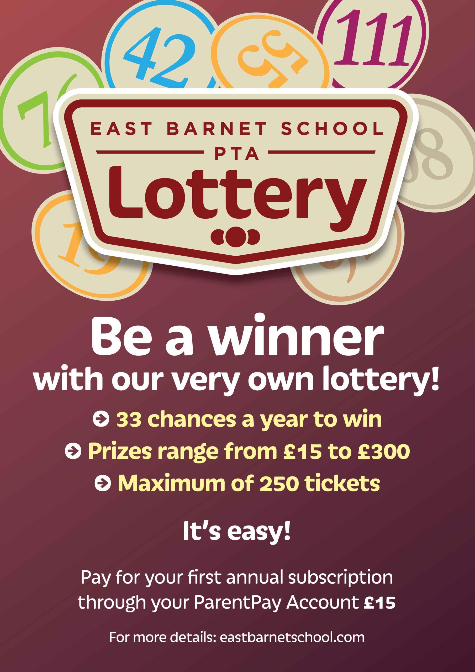 ebs ptfa lottery poster