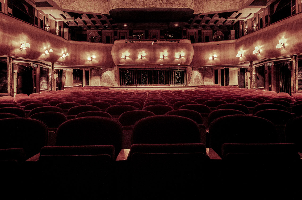 empty seating at theatre