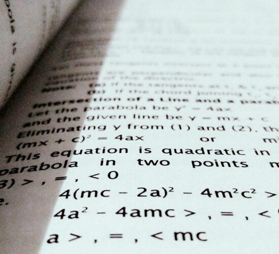 algebra in a book